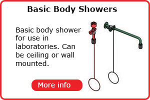 Basic lab body showers