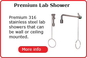 Premium lab shower