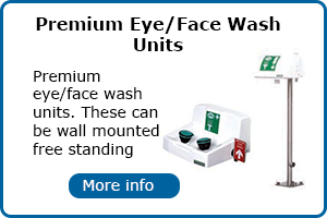Premium eye and face wash unit