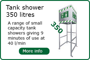 350 Litre Tank Shower